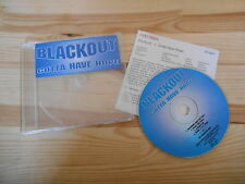 CD Pop The Blackout - Gotta Have Hope (4 Song) Promo COLUMBIA Presskit