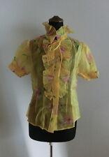 NWT! Ralph Lauren 100% Silk Flower Shirt/Blouse 2013SS Size4