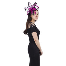 Janeo Headwear Fascinator Hat,StarBurst Petals,Designer,Wedding,Special Occasion