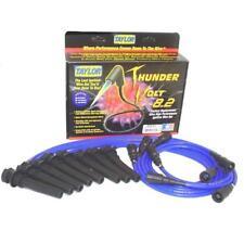 Taylor Spark Plug Wire Set 82634; ThunderVolt 8.2mm Blue OE for Jeep V8