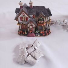 New ListingLemax Spooky Town Halloween Party House 2004 Rare 45005