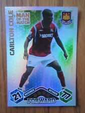 Match Attax 2009/10 MOTM card Carlton Cole of West Ham United