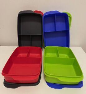 Tupperware Jolly Tup Clever Kompaktes Pause Mittagessen,Pausen-Mix 1L Behälter