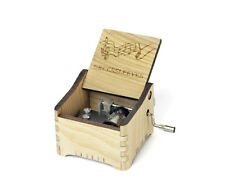Greensleeves / Personalized Hand Crank Music Box