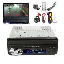 1 Single DIN 7'' HD Touch Screen MP3 MP5 USB Bluetooth Video Player + Camera