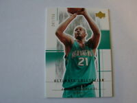 2003-04 Ultimate Collection # 72 Jamaal Magloire Card # 247 of # 750 (B24)