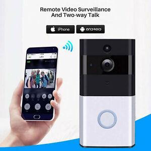 Ring Video Doorbell Camera Wireless WiFi Security Phone Bell Interphone 720P HD
