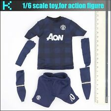 L58-12 1/6 scale ZCWO Manchester united #10 rooney Football shirt set