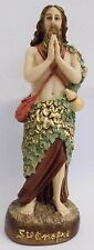 """Statue of Saint Onofre Religious Figurine St Onofre  - 6.3"""" - 16cm - St ONOFRE"""