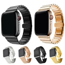 Für Apple Watch Edelstahl Metall Armband iWatch Serie5/4/3/2/1 38/42mm/40/44mm