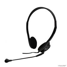 Skype Auricular con micrófono para ordenador/Genius hs-200c Auriculares + Micro