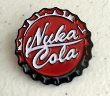 Fallout Nuka Cola Bottlecap Enamel Pin