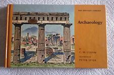 """ARCHAEOLOGY""/THE ODYSSEY LIBRARY/C.W. CERAM/1964/MINIATURE SIZE/45 PAGES."