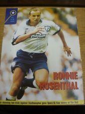1995/1996 Foto Autografato Magazine: Tottenham Hotspur-Rosenthal, Ronnie. MI