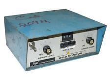 Joyal Jwm Weld Monitor 115 Volts 60 Hz (3 Available)
