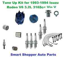 Tune Up kit for 93-94 Isuzu Rodeo V6 Spark Plug Wire Set, Air Filter, Cap, Rotor