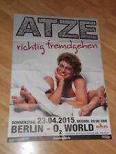Tourplakat,Plakat,Poster,Atze Schröder,Neu,2014,Berlin