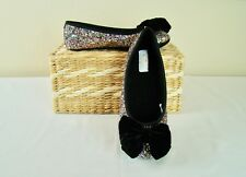 NIB KATE SPADE SUSSEX Multi Color Glitter Ballet Slippers Shoes - Size 6