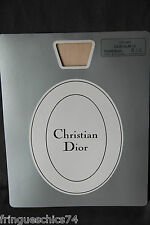 collant polyamide soie chair CHRISTIAN DIOR SLIM 10 T. 8 1/2 (2) NEUF/BLISTER