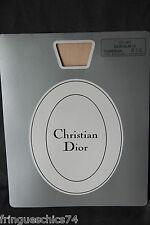 tights polyamide silk flesh CHRISTIAN DIOR SLIM 10 t 9 1/2 (3) NEW/BLISTER