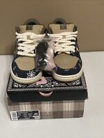 Nike SB Dunk Low Premium QS x Travis Scott Cactus Jack 2020 Men's Size 7.5.