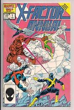 X-Factor Annual #1 Signed by Bob Layton W/COA (1986, Marvel)