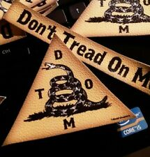 *Sew On Gadsden Patch* For Hats, Left Chest, etc.*5.00 set* 3.5x3* free ship