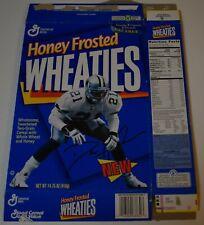Original 1996 Wheaties DEION SANDERS Dallas Cowboys Cereal Box (Flat)