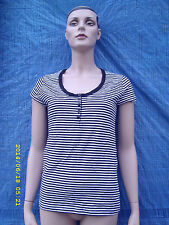 Hip Length 3/4 Sleeve Striped Tops & Shirts NEXT for Women