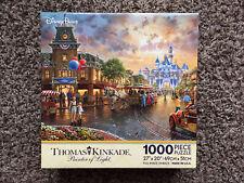 DISNEY PARKS Thomas Kinkade DISNEYLAND 60TH ANNIVERSARY 1000 Pc Puzzle Complete