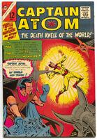 Captain Atom 80 Charlton 1966 VF Steve Ditko