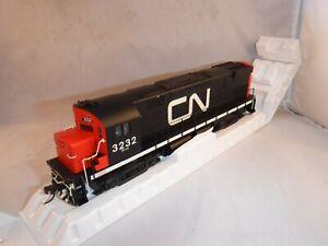 """Atlas HO Canadian National CN MLW C424 Ph 3 """"Wet"""" #3232      DCC-ESU Lok Sound"""