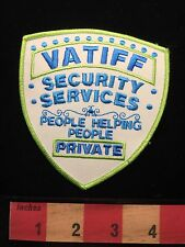 Collector Patch ~ VATIFF Private Security Services Officer C64K