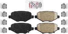 Disc Brake Pad Set-AmeriPro Ceramic Rear Autopartsource PRC1719