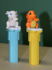 Vintage Pokemon Figure Candy Box Toy - Mew & Charmander