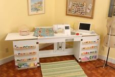 BABYLOCK Ellisimo, Ellageo Sewing Cabinet by Arrow in White