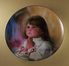 Children at Christmas A CHRISTMAS PRAYER Plate #2 Donald Zolan Pemberton & Oakes
