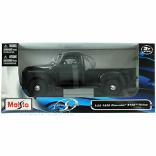 Maisto Spécial 1950 Chevrolet 3100 Pickup Noir 1/25 Voiture Miniature 31952BK