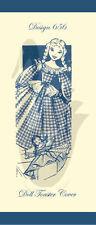 Riproduzione vintage doll Tostapane copertura cucito PATTERN D656