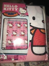 """Hello Kitty Fluttering Hearts Fabric Shower Curtain~Pink~70""""x72"""""""