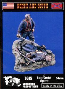 Verlinden Productions 1:32 54mm Close Combat Vignette - Resin Figure #1615