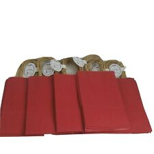 Voila 7 Packs Of 3 Pack Red goodie Bags Craft Bags 9�Hx5.5�Lx3 Gift Bags