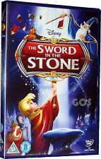 Sword In The Stone Classic Walt Disney Film Kids Childrens Movie DVD New Sealed