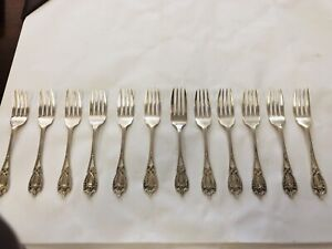 Monticello by Lunt Sterling Silver Fish Fork Pierced 7