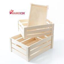 Contenitori e scatole di legno per la casa ebay for Cassette di legno ikea