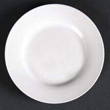 Patternless Bone China Dinnerware Plates