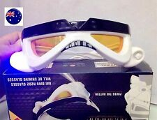 Boy Kid Adult Star Wars Stormtrooper LED Eye Glasses Goggle Party Costume Prop