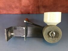 Vintage Great Northern Manual Hand Stone Grain Mill Prepper Counter Clamp
