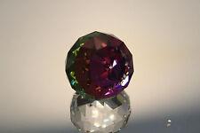 Swarovski Crystal Round Ball 50mm Paperweight 7404 Nr 50 087 Vm Purple Red Mint
