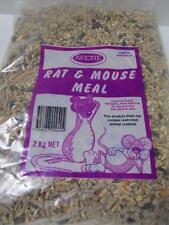 2kg FRESH AVIONE RAT MOUSE MEAL FOOD PELLET SEED BLEND BLEND DIET AUSTRALIAN